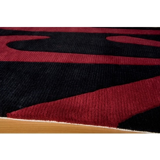 Koi Prosperity Hand-tufted Wool Area Rug (5'3 x 8')