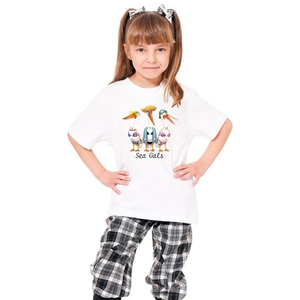 Youth Cotton White T-shirt