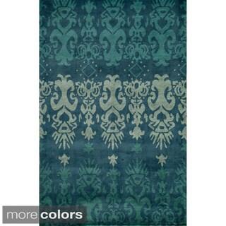 Global Rishdan Hand-tufted Wool Area Rug (5' x 8')