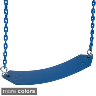 Swing Set Stuff Premium Residential Belt Seat with 5.5ft Coated Chain