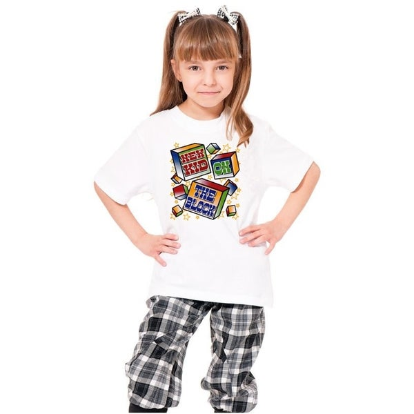Youth 'New Kid On The Block' Print Cotton T-shirt