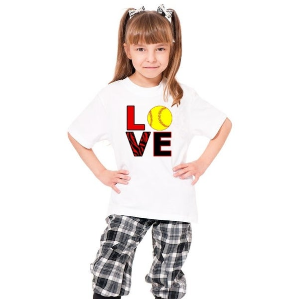Youth 'Love' Print Cotton T-shirt