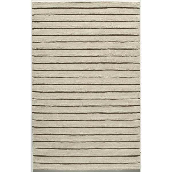 Manhattan Shingle Wool Area Rug (5' x 8')