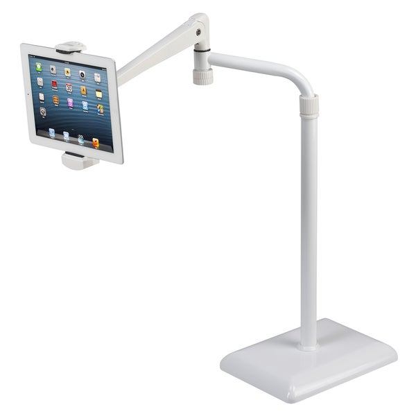 idee Height Adjustable 360-degree Rotating Floor Stand for Tablets (As Is Item)
