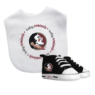 Baby Fanatic Florida State Seminoles Bib and Pre-walker Shoes Gift Set
