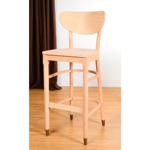 Willoughby Unfinished Barstool