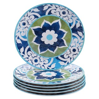 Certified International Barcelona 11-inch Dinner Plates (Set of 6)