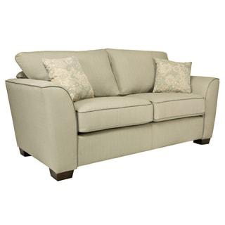 Portfolio Gaft Washed Earth Grey Sofa