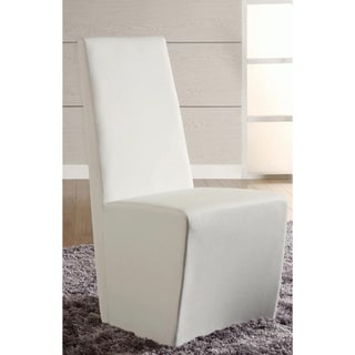 Christopher Knight Home Cressida White Fully Upholstered Modern Side Chair (Set of 2)