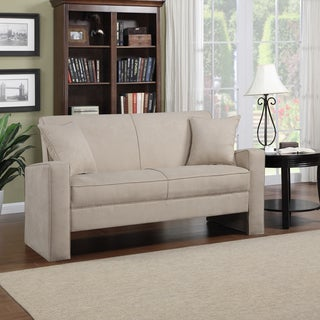Portfolio Aviva Khaki Microfiber Sofa
