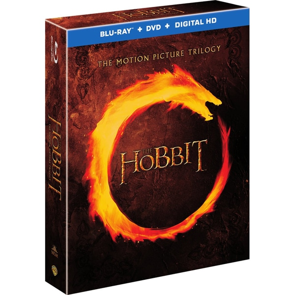 The Hobbit: Motion Picture Trilogy (Blu-ray/DVD) 15005926