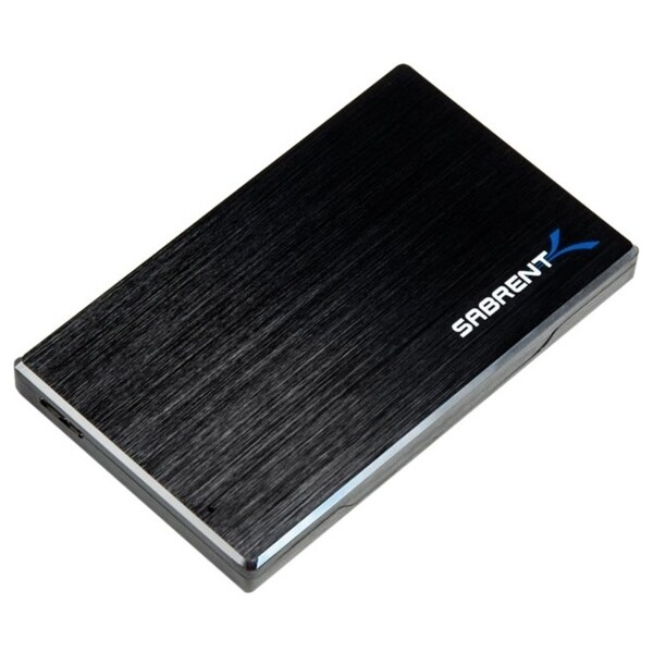 Sabrent EC-ALUM Drive Enclosure External - Black