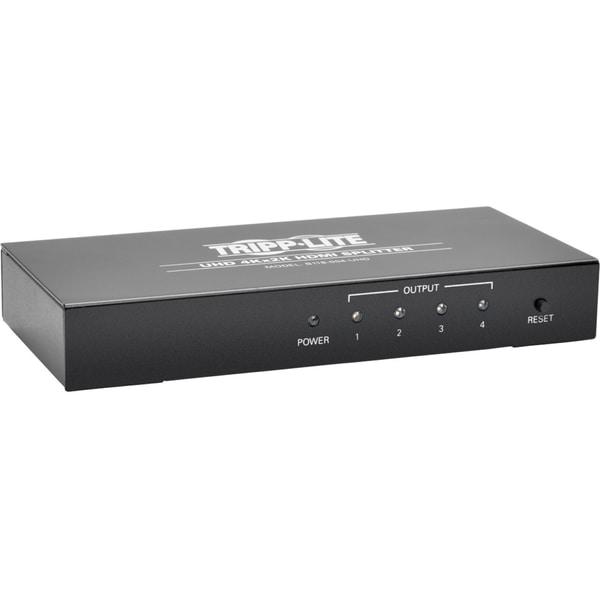 Tripp Lite 4-Port 4K HDMI Splitter for Ultra-HD (4Kx2K) Video and Aud