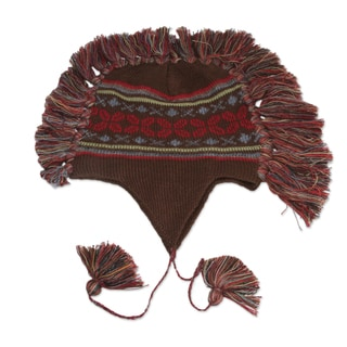 Handcrafted Alpaca 'Quinua Adventure' Chullo Hat (Peru)