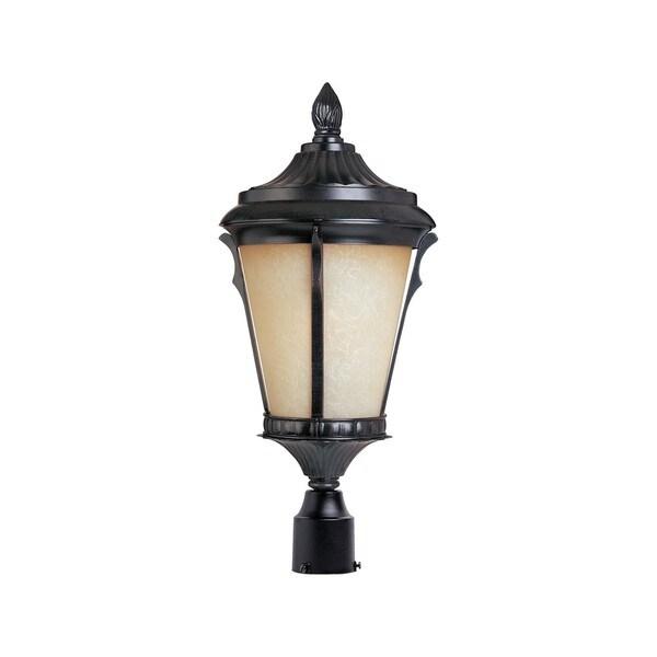 Aluminium Shade Odessa 1-light Outdoor Pole/ Post Mount Light