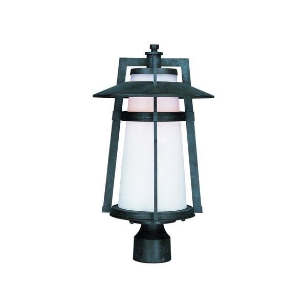Aluminium Shade Calistoga LED 1-light Outdoor Pole/ Post Mount Light