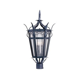 Iron Shade Cathedral 3-light Outdoor Pole/ Post Mount Light
