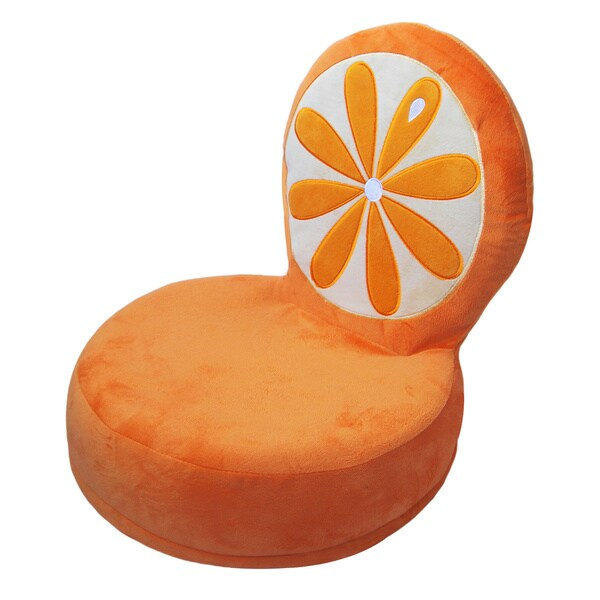 Critter Cushions Orange Kids Chair