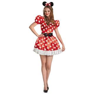 Disney Women's Minnie Mouse Classic Polka Dot Costume