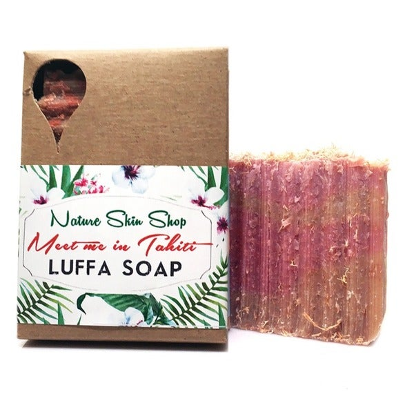 Meet me in Tahiti Luffa Soap
