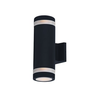 Maxim Bronze Shade Ray 2-light Outdoor Wall Mount Light