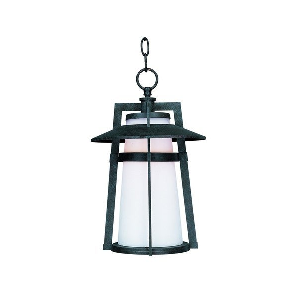 Die Cast Satin Shade Calistoga 1-light Outdoor Hanging Lantern
