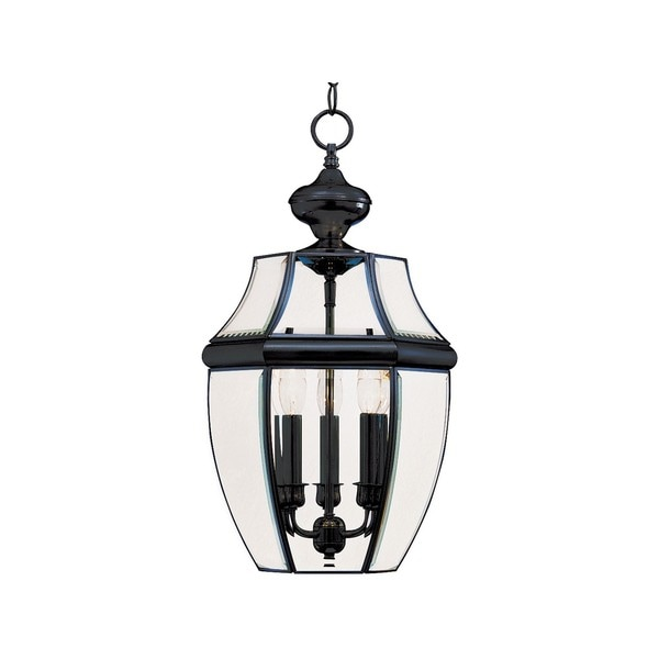 Solid Brass Clear Shade South Park 13-light Outdoor Hanging Lantern