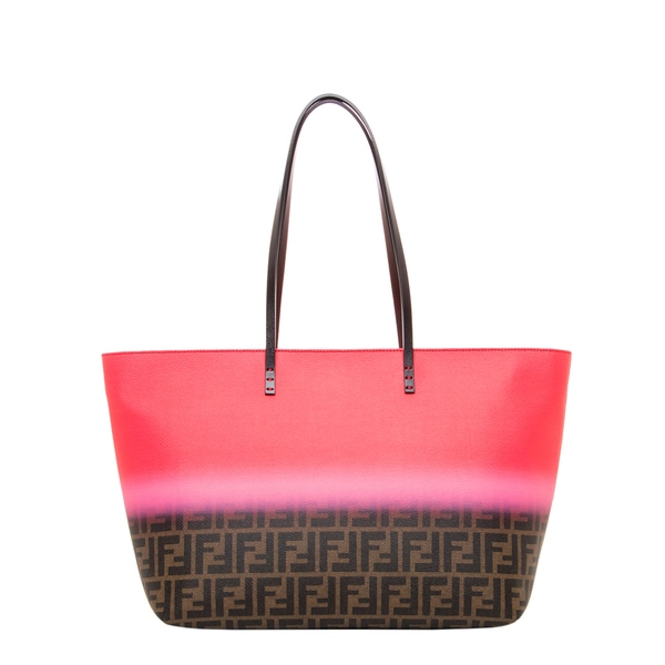 Fendi Medium Painted Zucca Roll Tote