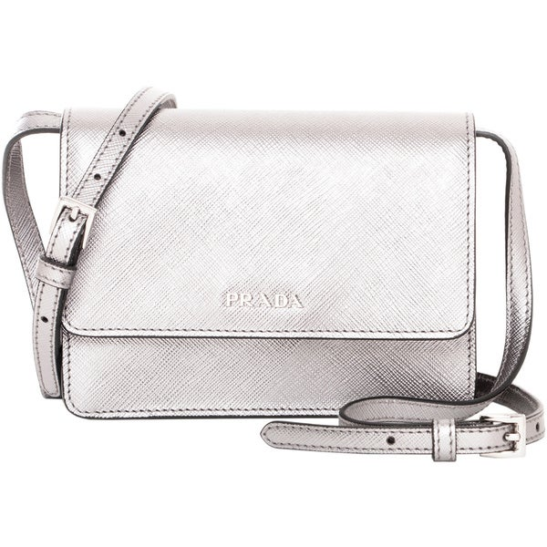 Prada Mini Saffiano Leather Shoulder Bag