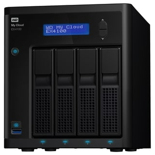 WD My Cloud Business Series EX4100, 8TB, 4-Bay Pre-configured NAS wit