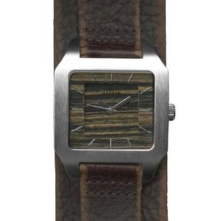 Dakota Men's Wood Dial Worn Mod Watch
