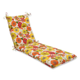 Pillow Perfect Outdoor Margate Lily Chaise Lounge Cushion