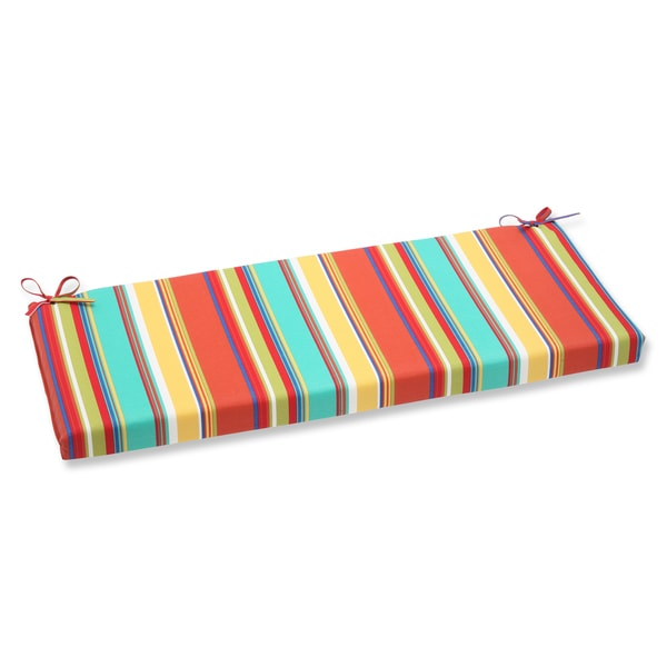 Pillow Perfect Outdoor Westport Spring Bench Cushion