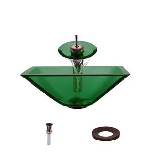 The MR Direct 603 Emerald Oil Rubbed Bronze Bathroom Ensemble