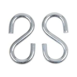 Swing Set Stuff 3/ 8-inch x 4-inch Lg End S Hook (Pair)
