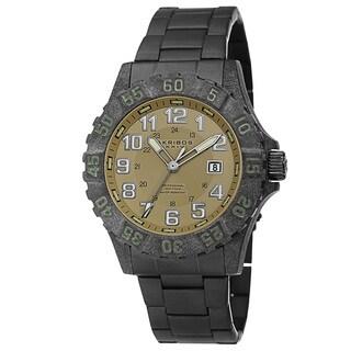 Akribos XXIV Men's Divers Japanese Quartz Stainless Steel Bracelet Watch