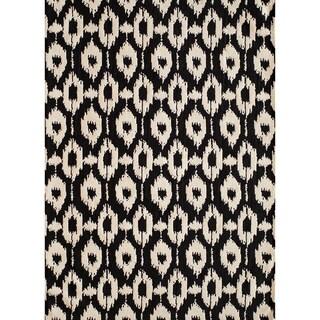 Softique Dashes Hand-tufted Area Rug (2' x 3')