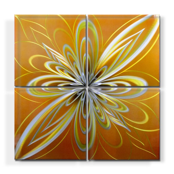 'Infusion' Large Metal Wall Art 15009950