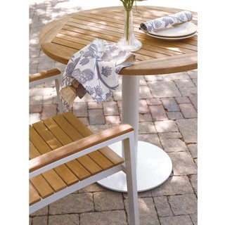 Oxford Garden Travira 32-inch Round Bistro Table
