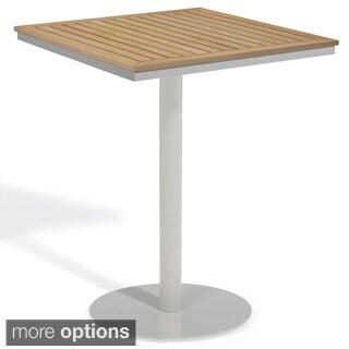 Oxford Garden Travira 32-inch Square Bar Table