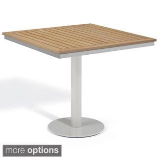 Oxford Garden Travira 32-inch Square Bistro Table