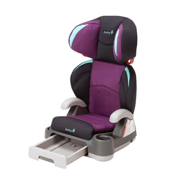 Cosco Backed Store 'n Go Booster Car Seat in Plumtastic