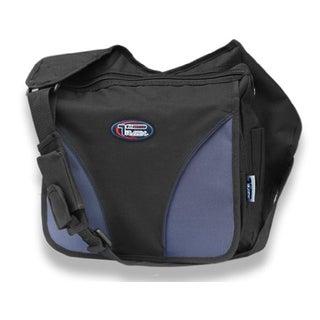 Black Crossbody Laptop Messenger Shoulder Bag