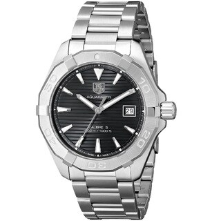 Tag Heuer Men's WAY2110.BA0910 'Aquaracer Calibre 5' Stainless Steel