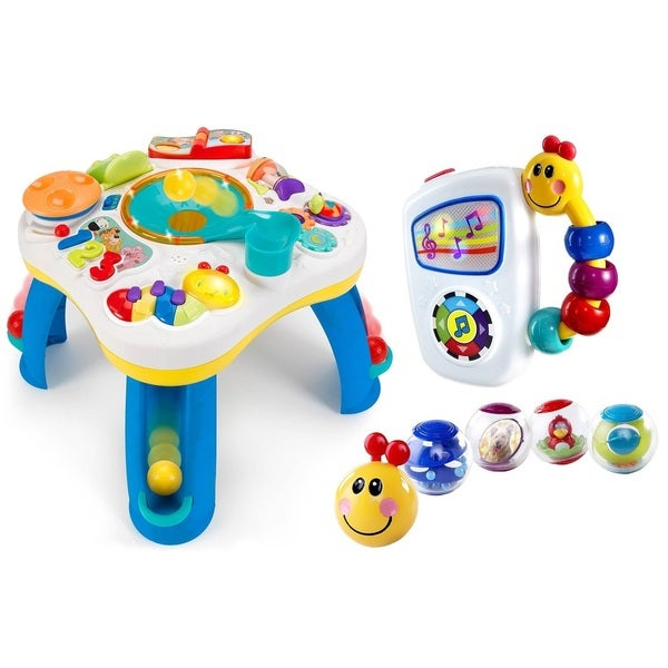 Bright Starts Having a Ball Activity Table with Take Along Tunes and Pillar Balls
