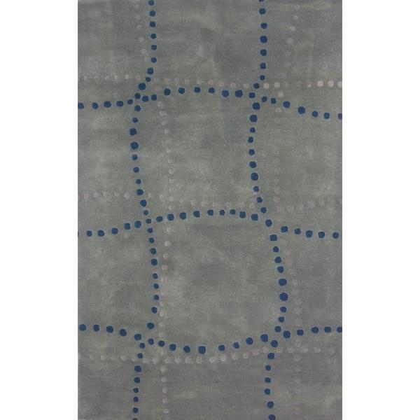 Sway Grey Area Rug (8' x 11')