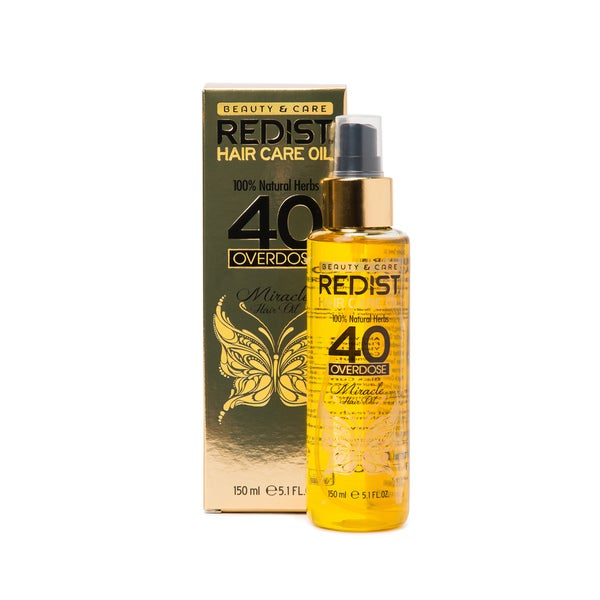 Redist USA 100-percent Natural Herbs Overdose Miracle Hair Oil