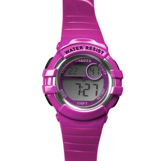 Dakota Hot Pink Digital Diver Watch
