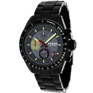 Fossil Men's CH2942 Decker Round Black Bracelet Watch