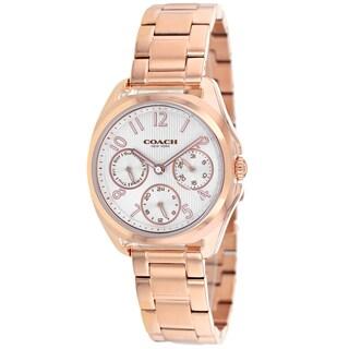 Coach Women's 14502010 Classic Round Rosetone Bracelet Watch
